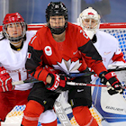 U.S. and Canada Face Off in Women's Hockey Olympic Gold Medal Game