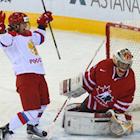 Russian Firepower Burns Canadian Women's Hockey Team