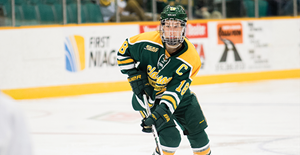 Clarkson Golden Knights forward Cayley Mercer