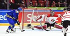 Canada looks outmatched in 5-2 loss to Sweden to close out round robin play