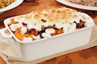 Easy Sweet Potato Casserole with Marshmallows