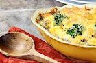 Cheesy Rice and Broccoli Bake