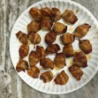 Bacon Water Chestnut Rolls