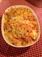 Last Minute Mexican Brunch Casserole