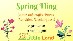 Spring Fling - Little Land Play Gym Waco