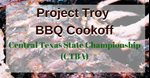 BBQ Cook-off, CTBA Sanctioned