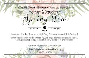 Mother and Daughter Spring Tea - Carleen Bright Arboretum