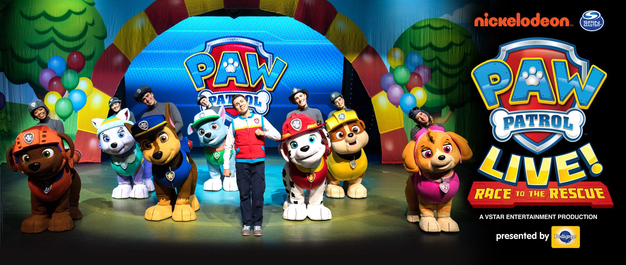PAW PATROL LIVE!  RACE TO THE RESCUE - Extraco Events Center