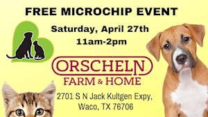 Free Microchip Clinic - hosted by Animal Birth Control Clinic