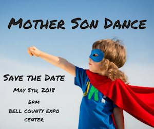 Mother Son Dance hosted by Temple Civic Theatre