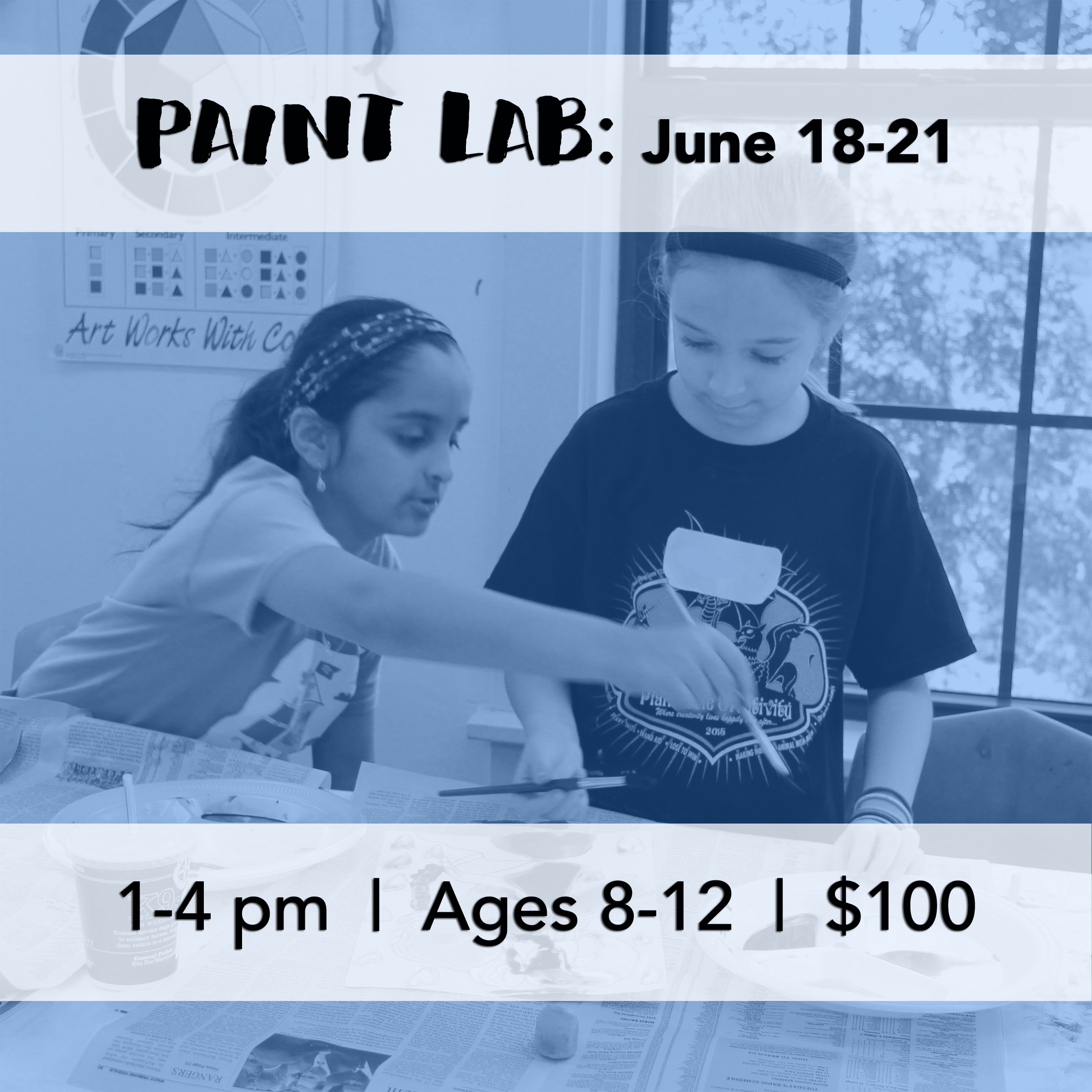 Art Center of Waco: Paint Lab Camp