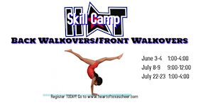 Back Walkover/Front Walkover Camp - Heart of Texas Cheer and Dance