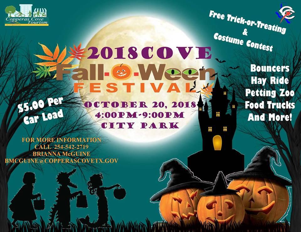 Fall-o-Ween Festival - Copperas Cove City Park