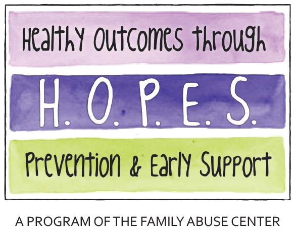 Family Abuse Center HOPES Program