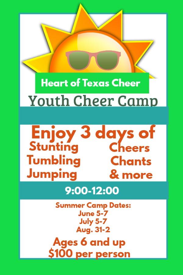 Youth Cheer Camp - Heart of Texas Cheer