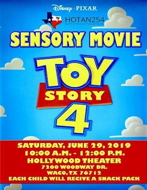 Sensory Movie Toy Story 4 - HOTAN