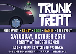Trunk or Treat - Trinity at Badger Ranch