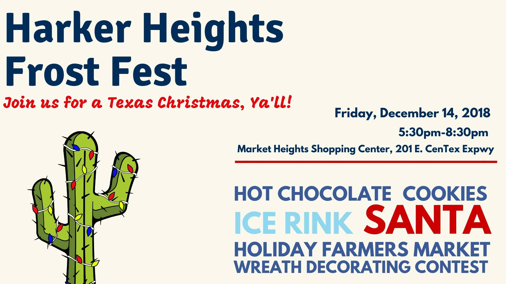 Harker Heights Frost Fest