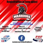 Fort Hood Warriors Youth Football and Cheer Registration
