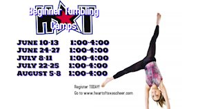 Beginner Tumbling Camp - Heart of Texas Cheer and Dance