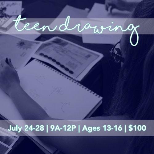 Teen Drawing Camp -  The Art Center of Waco