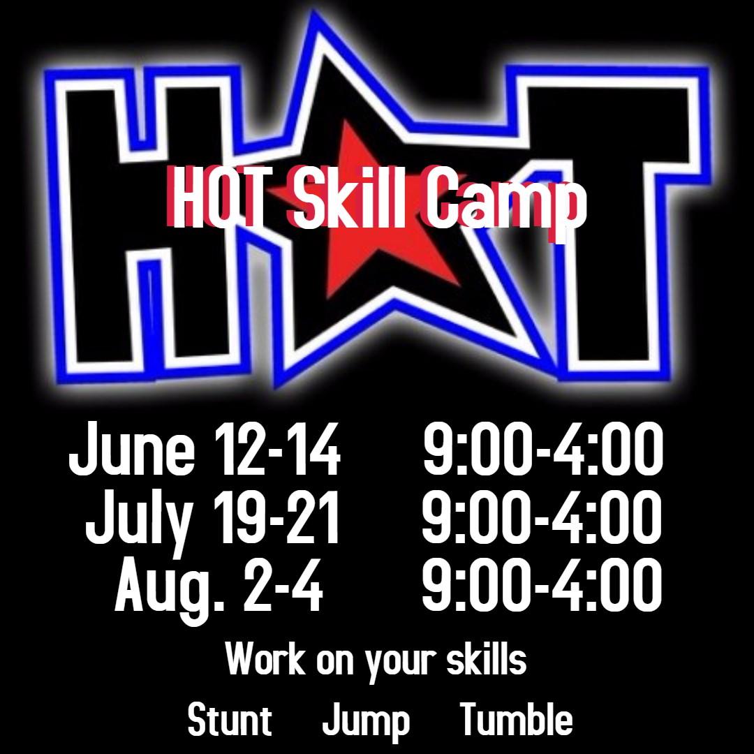 HOT Skill Camp - Heart of Texas Cheer