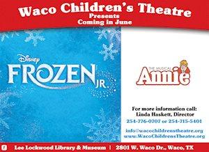 Disney's Frozen Jr & Annie Kids - Waco Children's Theatre