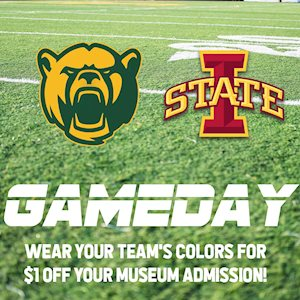 Baylor versus Iowa State Gameday - Dr. Pepper Museum