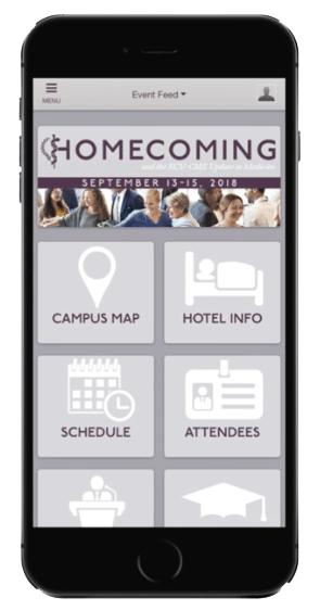 Download KCU Homecoming App