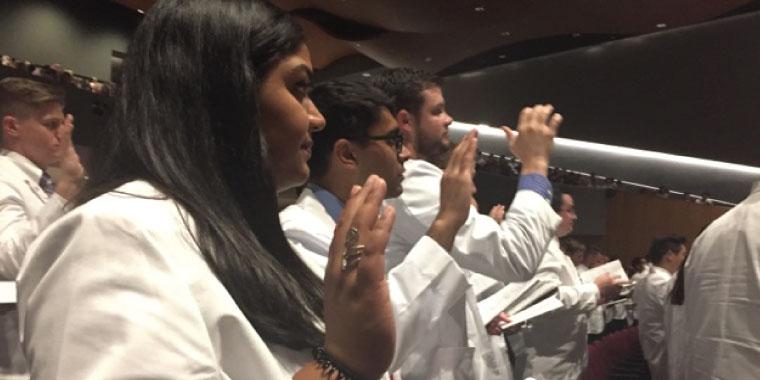 KCU-Joplin White Coating Ceremony 2017
