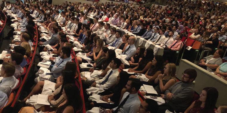 KC-COM Class of 2022 White Coating Ceremony