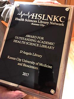 KCU Library Award