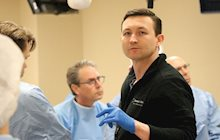 Chris Surek, DO, leads Facelift Symposium