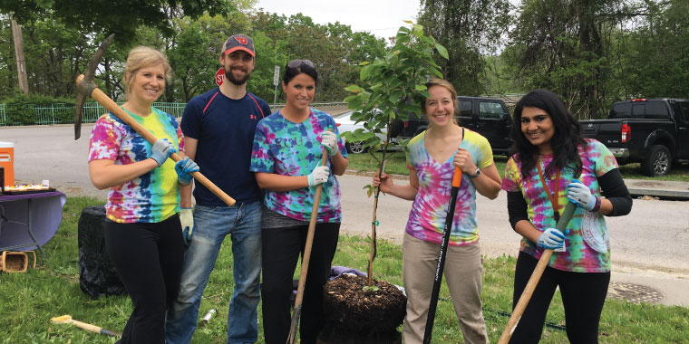 KCU Tree Planting