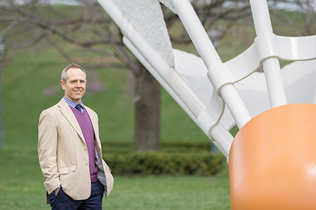 Dr. Schoen Kruse at Nelson-Atkins Museum of Art