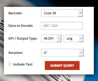 Create Barcodes