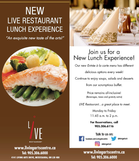 New LIVE Restaurant Lunch Experience