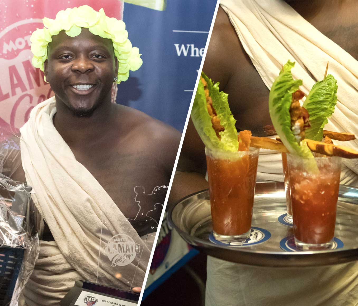WINNER THE BEST CAESAR IN MANITOBA