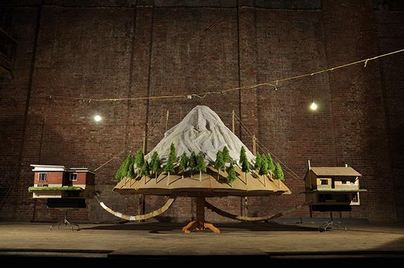 The Mountain (detail)