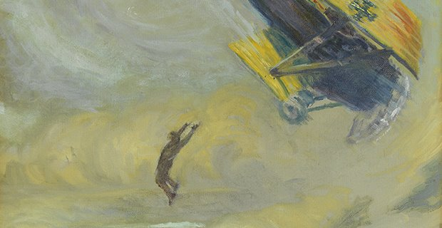 S. Chatwood Burton, The Fall (detail), 1918