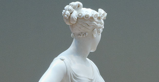 Antonio Canova, Dancer (detail) [1818–1822]
