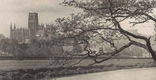 Frederick H. Evans, Durham Cathedral from the Wear (detail), c. 1896–1910