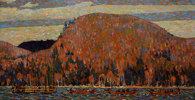 Tom Thomson, The Pointers (détail), 1915