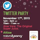 Lily of the Desert Twitter Party #Aloe November 17, 2015