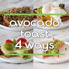 Avocado Toast Four Ways