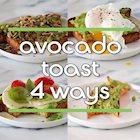 Avocado Toast Four Ways