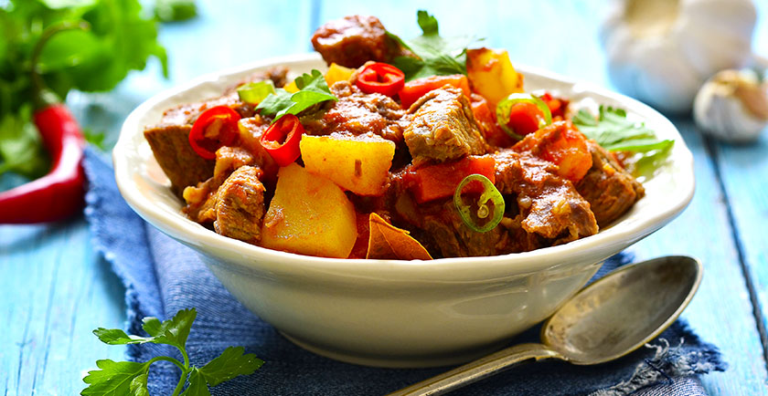 Slow Cooker Beef and Veggie Stew Recipe