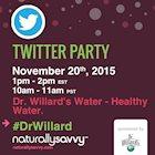 Dr. Willard's #DrWillards Twitter Party November 20, 2015