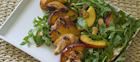 Grilled Chicken & Peach Skewers