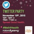 Melt Organic #Melt4Health Twitter Party November 19, 2015